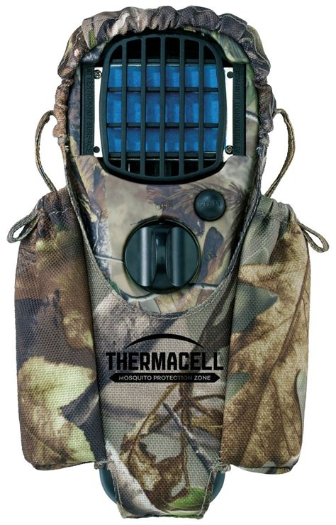 thermacell holster mosquito mr htj repellent camo realtree camping repeller appliance accessory cartridges clip refill mats fuel woodlands hour amazon