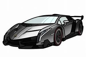 How To Draw A Lamborghini Veneno | www.pixshark.com ...