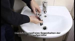 Ablaufgarnitur Waschbecken Wechseln : sinkfix 9tlg waschtisch montage satz youtube ~ Lizthompson.info Haus und Dekorationen