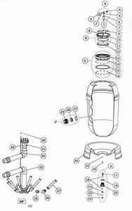 Astral Rapid Pool Filter Parts List  Model 00490