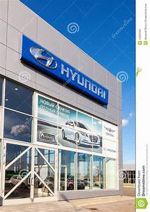 Office Of Official Dealer Hyundai Editorial Image - Image ...