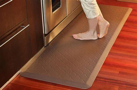 rubber mats for kitchen floor wellnessmats motif trellis collection quality anti 7832