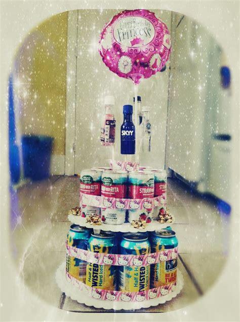 diy birthday ideas diy beer cake unique 21st birthday present gifts pinterest my birthday my best friend