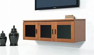 Modern Entertainment Center with Wall Mounted Media ...