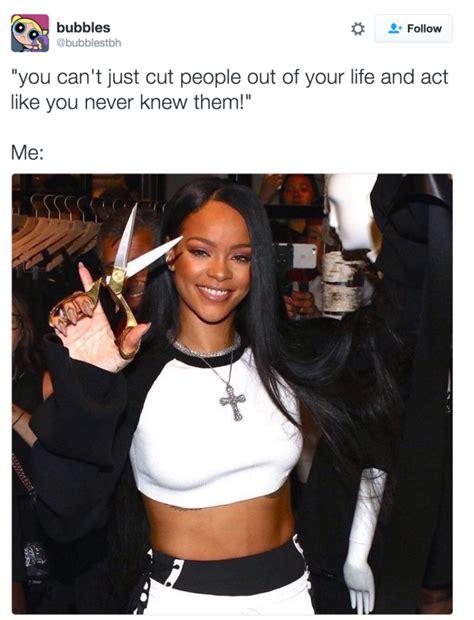Rihanna Memes - snip snip memes humor and rihanna meme