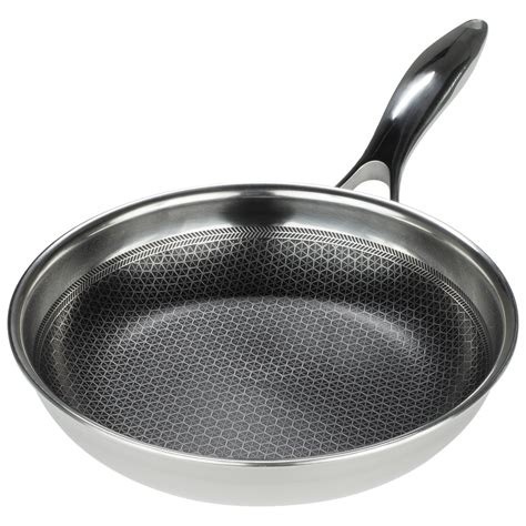 stainless steel frying pan black cube  cookware