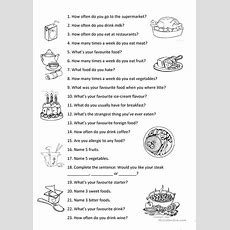 Food Vocabulary Worksheet  Free Esl Printable Worksheets Made By Teachers