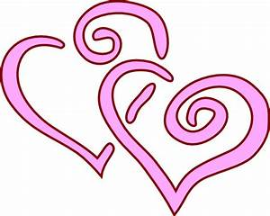 Two Heart Clipart - ClipArt Best
