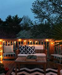 good looking cool patio design ideas How to Decorate a Small Patio | Projects, Tips & Tricks | Patio lighting, Deck decorating, Small ...