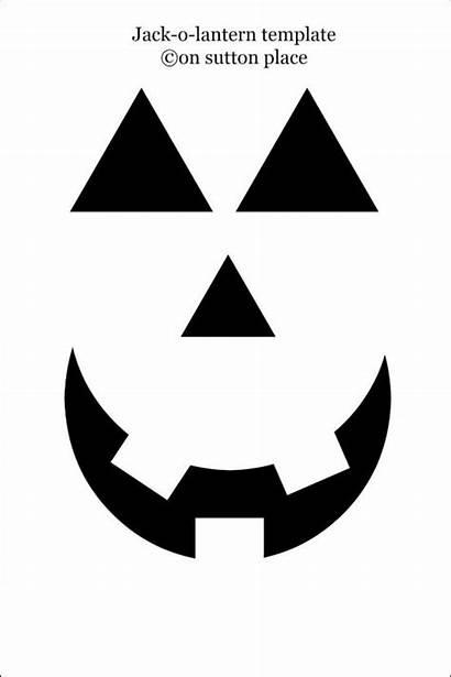 Lantern Pumpkin Jack Faces Templates Template Halloween