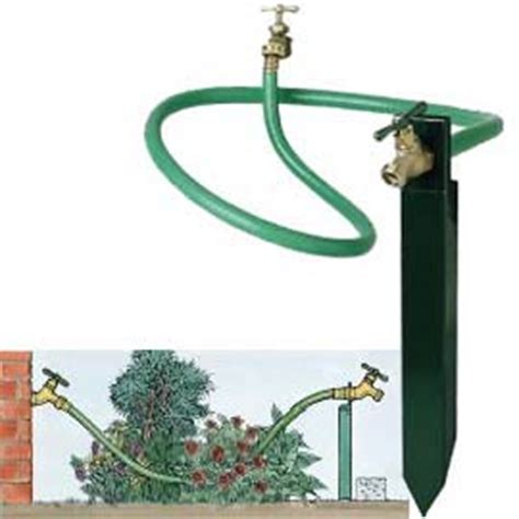 Garden Hose Faucet Extender by Faucet Extender No Walking Plants Or Reaching Into