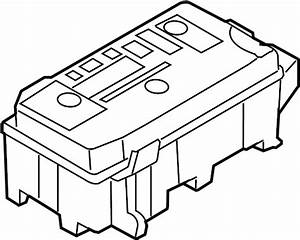 Buick Lucerne Fuse  Box  Relay  And  Block Assembly