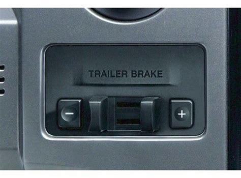 ford  factory trailer brake