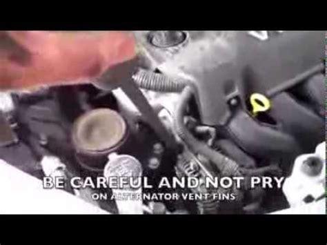 replace drive belt  toyota yaris scion xa youtube