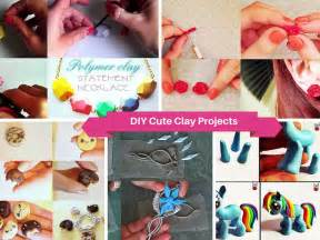 Cute DIY Polymer Clay Projects