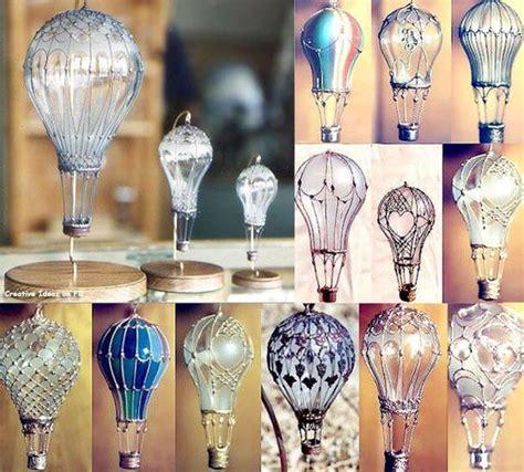 ideas originales  focos quemados como reciclar