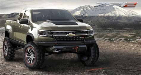 2018 Chevrolet Colorado Zr2 Concept La Auto Show Gm