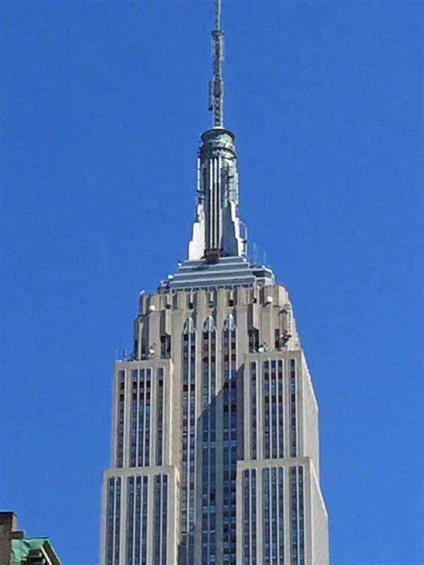 Mariettes Back To Basics Empire State Building New York