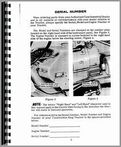 Case 530 Industrial Tractor Operators Manual
