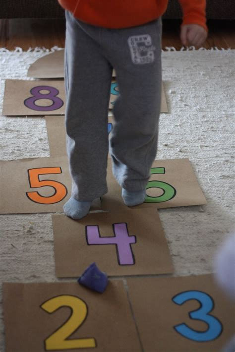 indoor hopscotch fun family crafts