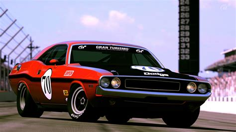 Race Dodge Challenger by 1970 Dodge Challenger R T Race Car By Vertualissimo On
