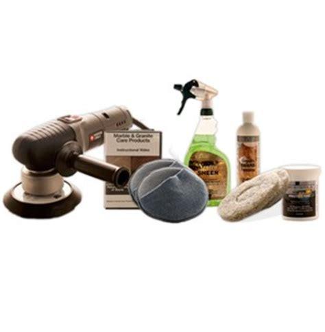 deluxe granite countertop maintenance kit w buffer