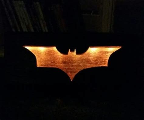 batman wall light
