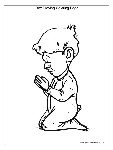 prayer coloring pages prayer coloring page for coloring home