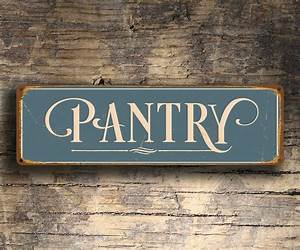 Pantry, Sign, Pantry, Signs, Vintage, Style, Pantry, Sign, Kitchen