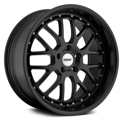 black wheels tsw valencia wheels matte black rims
