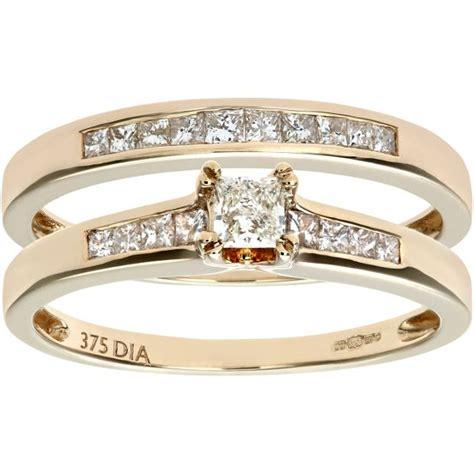 buy everlasting 9ct gold 0 50ct bridal ring