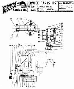 Milwaukee 4230 Parts List And Diagram