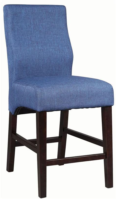 dorsett blue counter height stool set of 2 102856