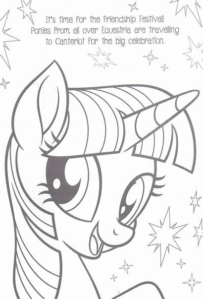 Pony Coloring Mane Ificent Activity Books Fun