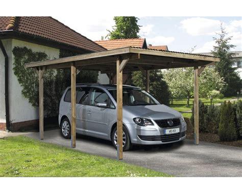Einzelcarport Weka 606 Gr 1 Inkl Hankerset 300x500 Cm