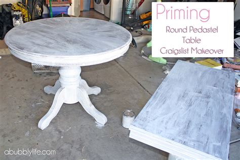 a bubbly how to paint a dining room table chairs