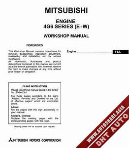 Mitsubishi Ebook Soft   Workshop Manual  Mitsubishi Engine