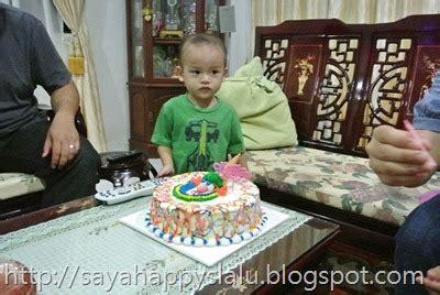 happy me third celebration of haikal s birthday