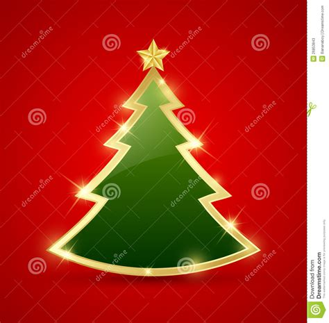simple but beautiful christmas tree pictures simple tree stock vector illustration of glass 26853843