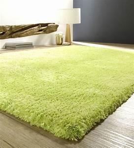 Tapis Ikea Vert : tapis shaggy vert anis homeezy ~ Teatrodelosmanantiales.com Idées de Décoration