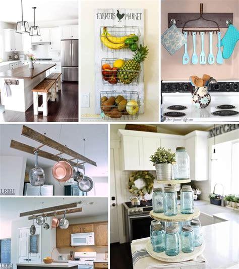 diy farmhouse kitchen decor projects