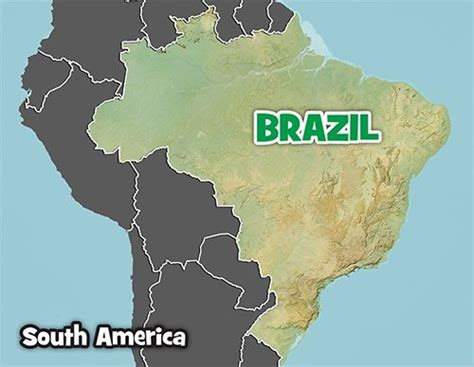 What Does Geographic Location by Brazil Facts Map National Geographic