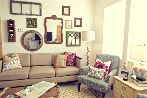 Decorating Ideas Vintage Living Rooms by 30 Eclectic Living Room Designs