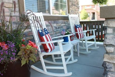 patriotic front porch ideas  independence day