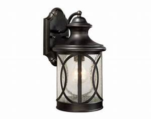 sterling 1 light 14quot forged bronze outdoor wall light at With outdoor lighting fixtures at menards