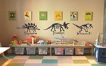 custom dinosaur canvas wall art  decals   kids