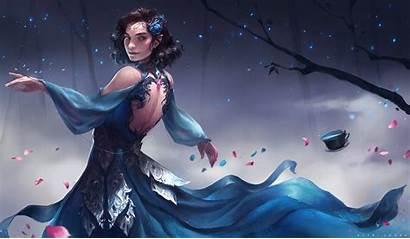 Elf Fantasy Wallpapers Short Wallhaven Elves Woman