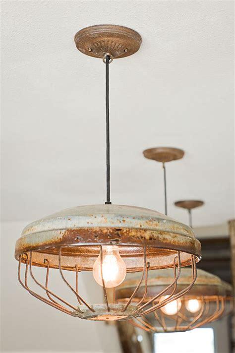 rustic kitchen lighting fixtures chicken feeder lights the vintage top photography 5005