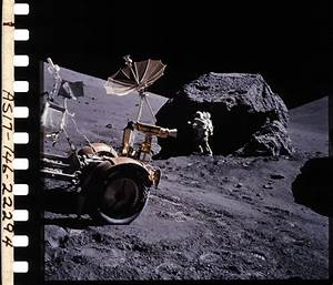 Apollo 17 Lunar Rover - Pics about space