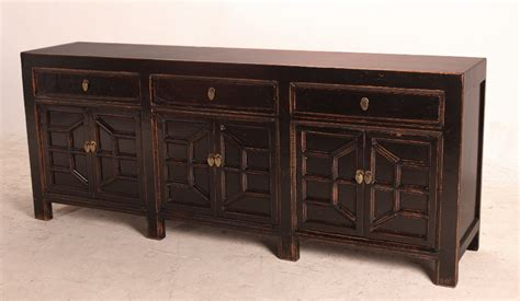 Black Sideboards by Black Media Console Cabinet Sideboard With Drawers